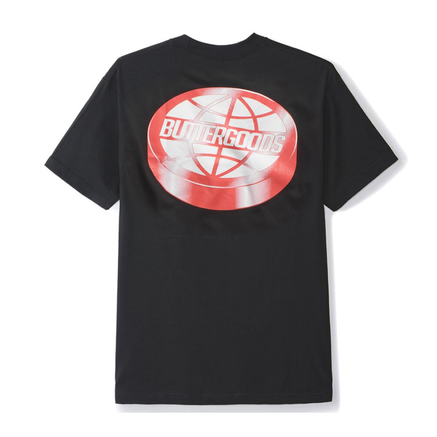 Butter Goods Disk Tee Black