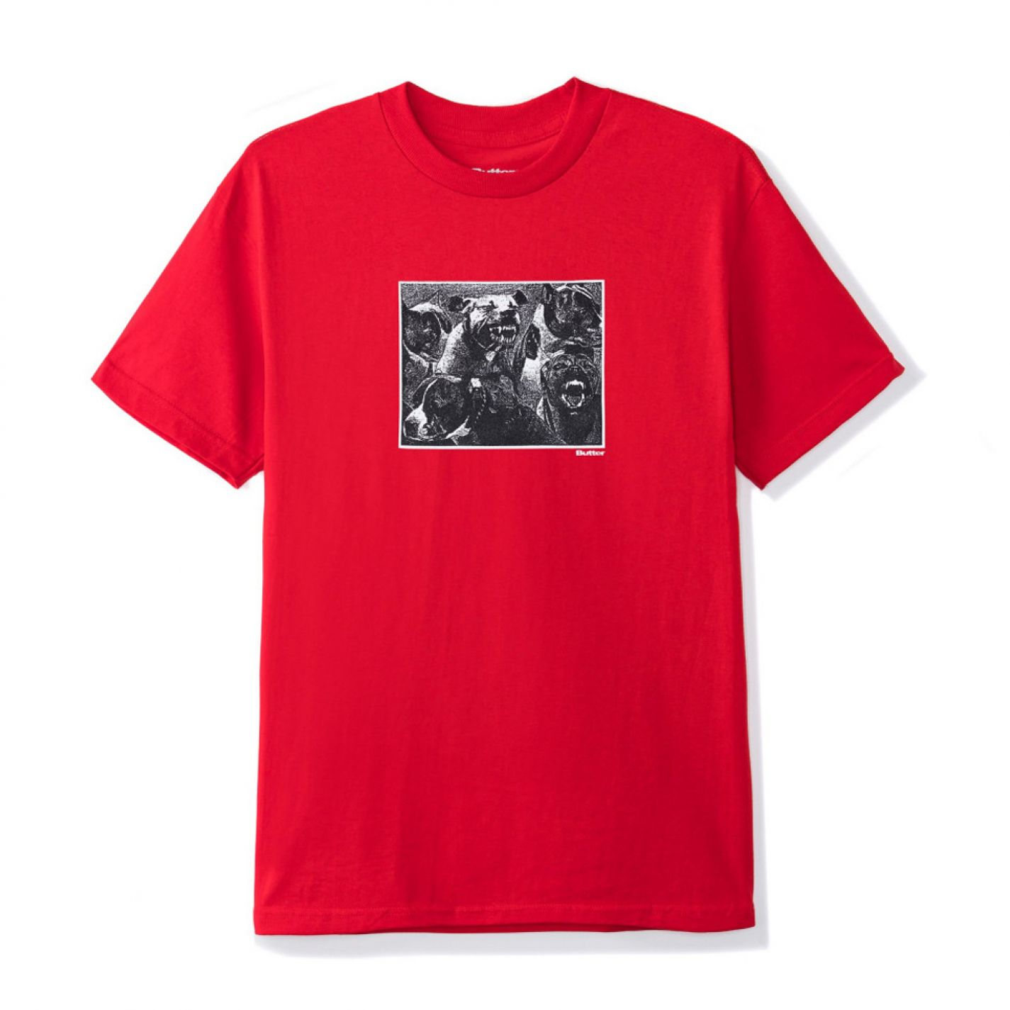 Buttergoods Forgive Tee Red