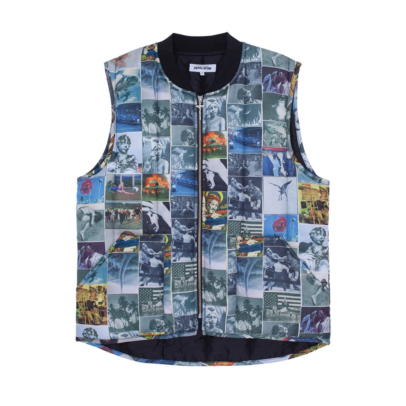Fucking Awesome Frogman Vest All Over Print