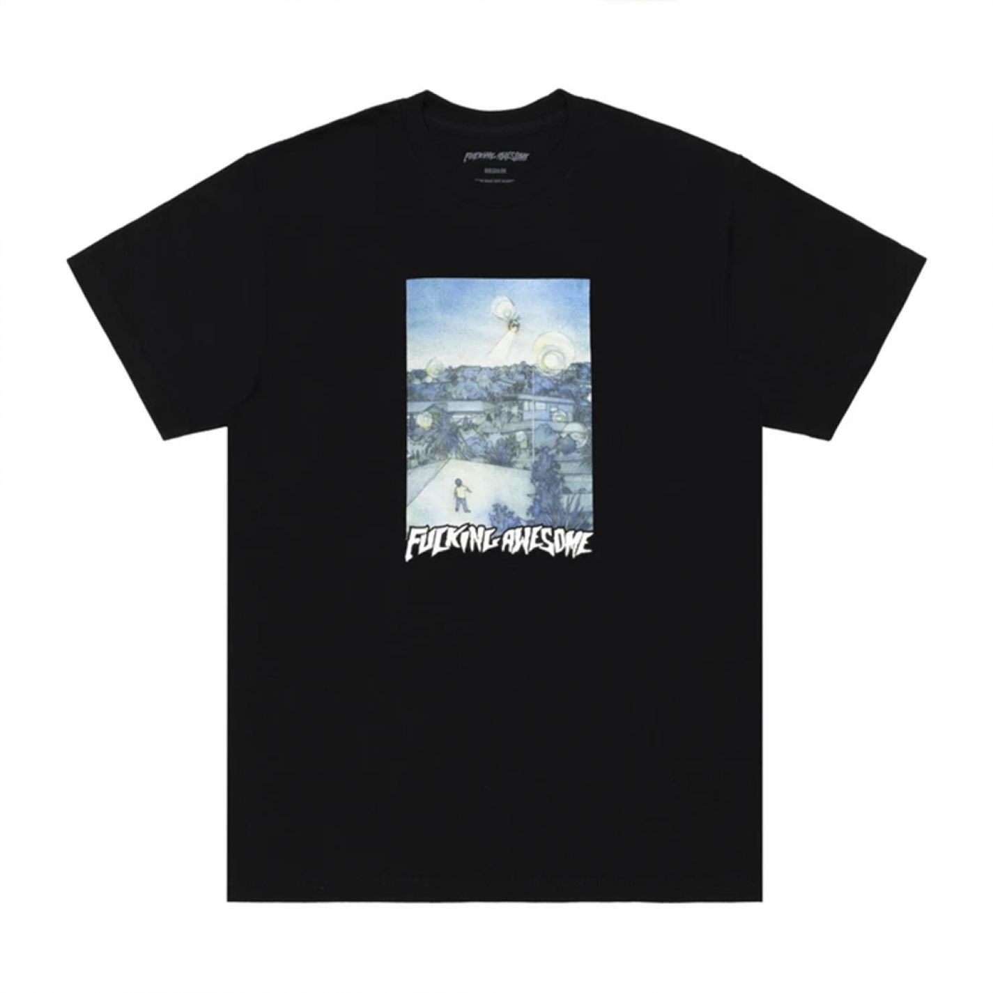 Fucking Awesome Helicopter Tee Black