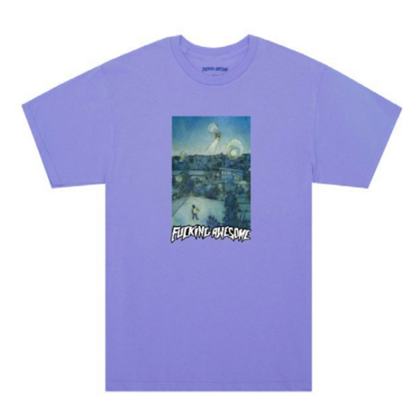 Fucking Awesome Helicopter Tee Violet