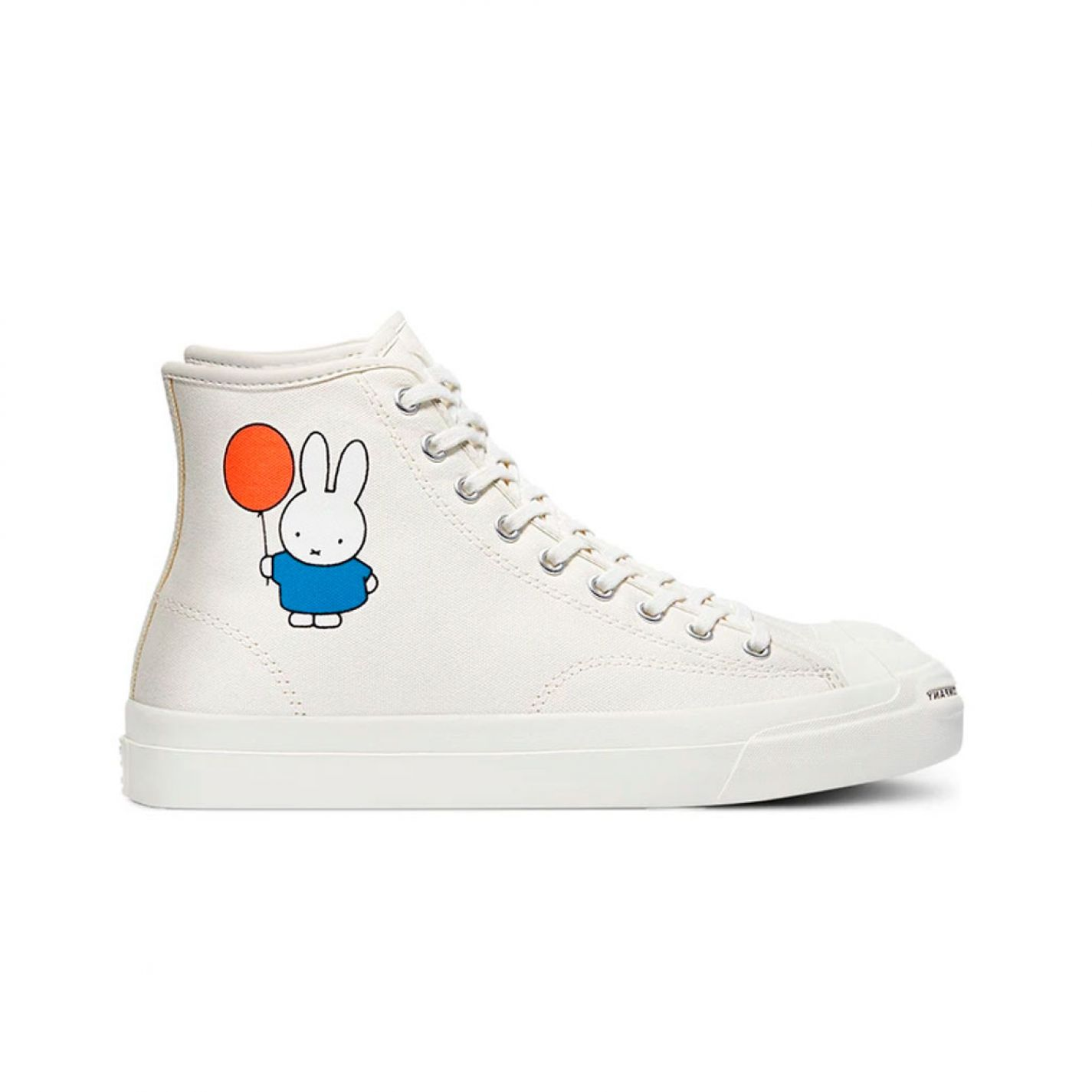 Pop Trading Miffy By Converse CONS JP Hi Off White