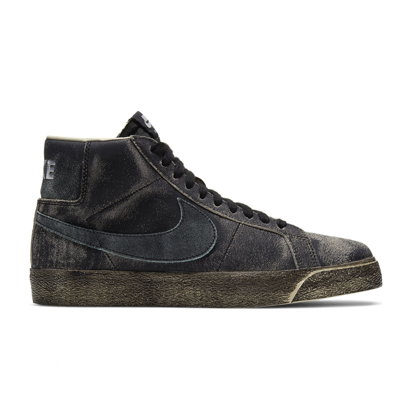 Nike SB Zoom Blazer Mid Prm Black/Light Dew Coconut Milk