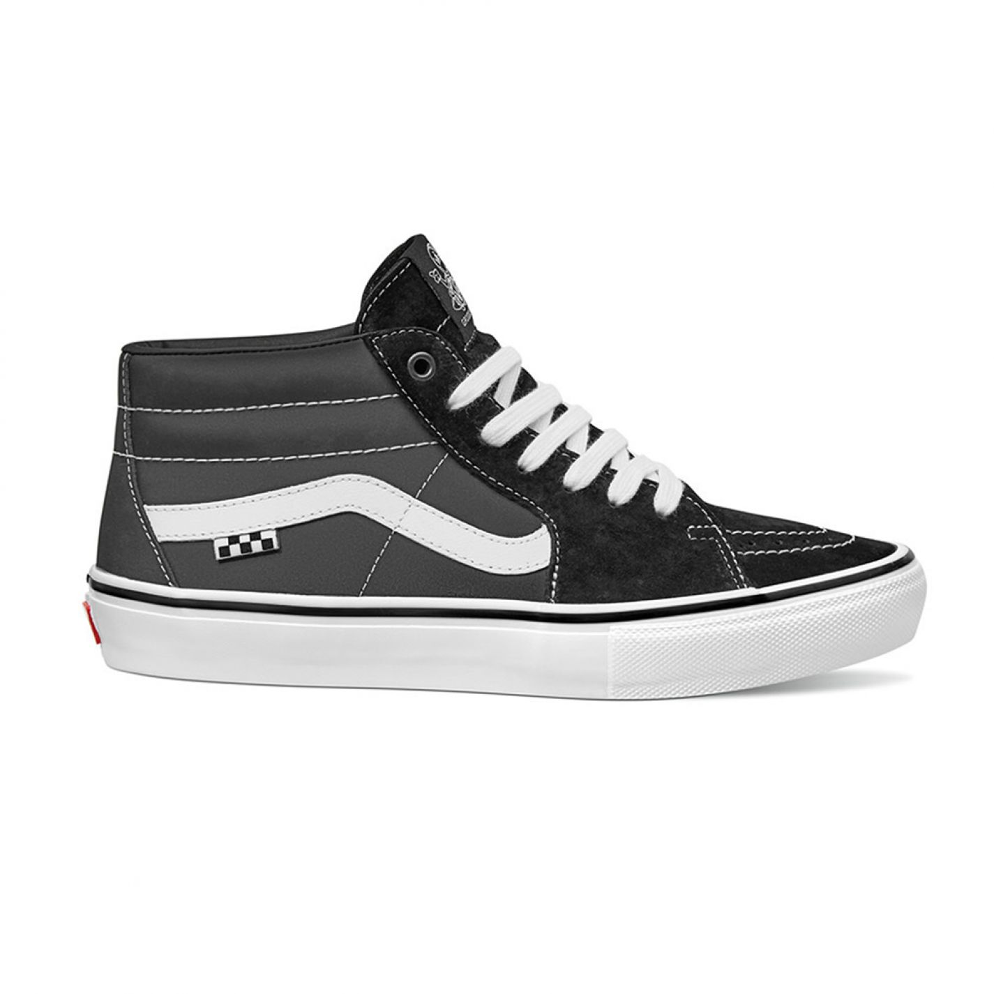 Vans Grosso Mid Black/White/Emo Leather